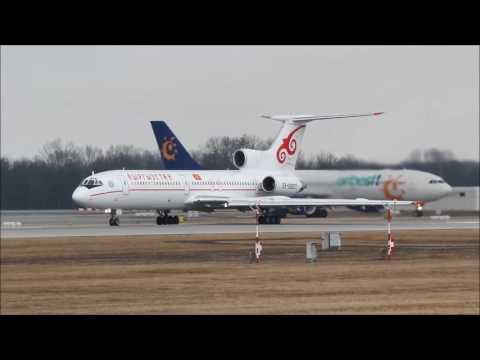 Kyrgyzstan Tupolev TU-154M takeoff in München, (MUC/EDDM)