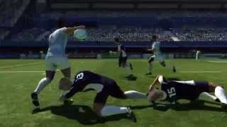 Rugby World Cup 2011  Official HD video game trailer - PS3 X360