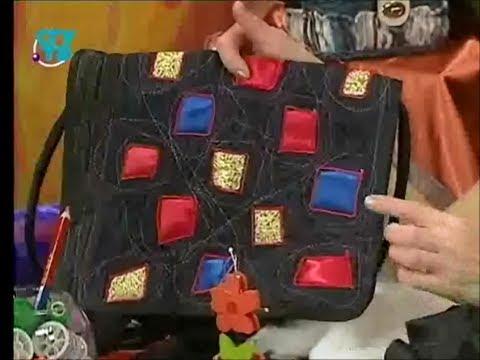 46b9c6139b25 Лоскутное шитье. Шьем сумки из ситца и шелка. Мастер класс. Татьяна  Лазарева - YouTube