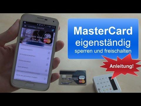 Number26: MasterCard eigenständig sperren und freischalten [Anleitung]