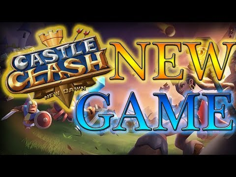 NEW Castle Clash Game GAMEPLAY L Castle Clash New Dawn