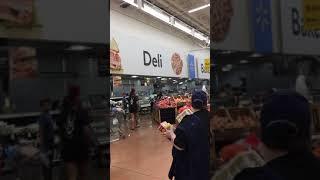 Vicious attack on Walmart Customers