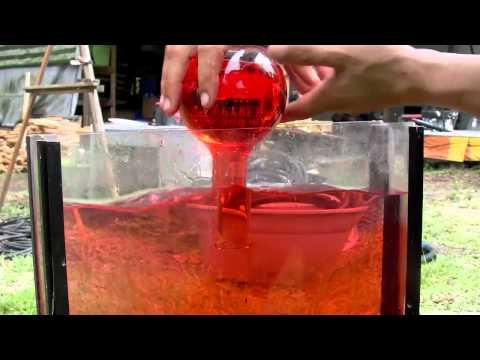 VISIBLE Thermal Exchange of water Torricelli vacuum