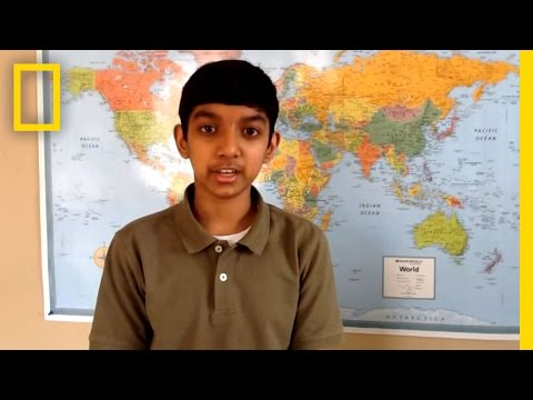 CO Finalist  National Geographic Bee 2013