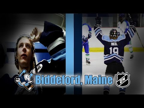 MY FIRST JUNIOR HOCKEY ROAD TRIP! [Biddeford, Maine]