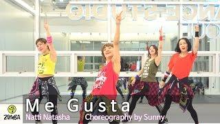 Me Gusta - Natti Natasha / Easy Dance Fitness Choreography / ZIN™ / Wook's Zumba® Story / Sunny