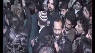 Zakir Waseem Abbas Baloch Majlis at Haram e Imam Hussain,as Way to Karbala 2017 Karwan Zakir Zuriyat