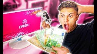 LE DOY 100€ a MI HERMANO por cada GOL en FIFA 20