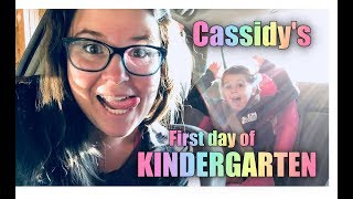 Cassidy Starting Kindergarten!! VLOG + Trail Run