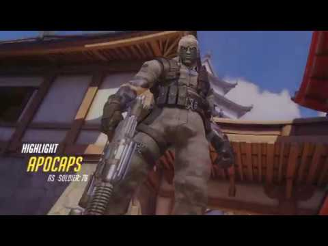 Overwatch Carry In The Last Overtime Minute