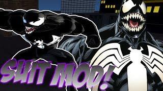 Ultimate Spider-Man MODERN VENOM V. 2 SUIT MOD (PC Gameplay)