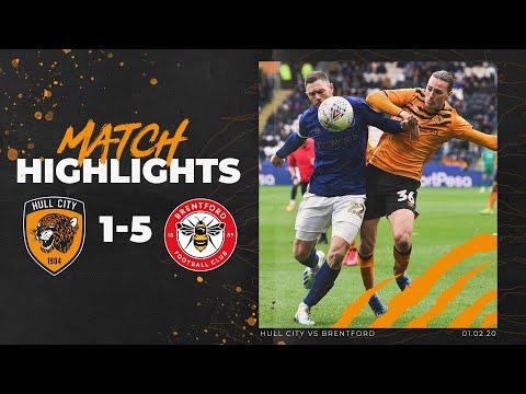 Hull City 1-5 Brentford | Highlights | Sky Bet Championship