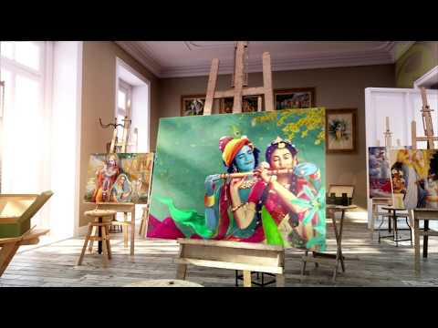 A Walkthrough With Radhakrishn Art Gallery | ⭐️ P Exclusive