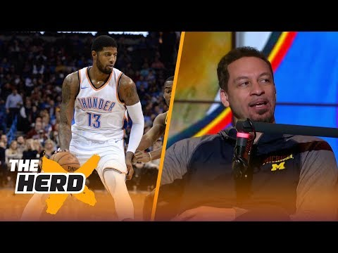 Chris Broussard on Paul George's future in Oklahoma city and more | THE HERD