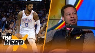Chris Broussard on Paul George's future in Oklahoma city and more | THE HERD thumbnail