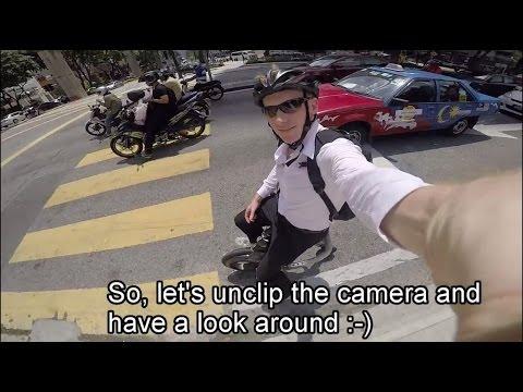 Yike Bike through Kuala Lumpur - fast, convenient, fun!