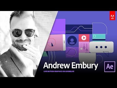 Live Motion Design with Andrew Embury 3/3