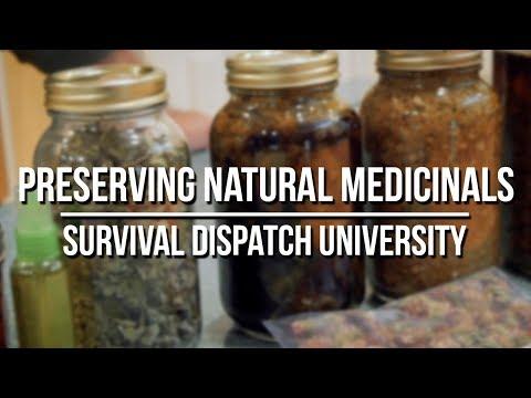 Preserving Natural Medicinals And Herbal Medicine
