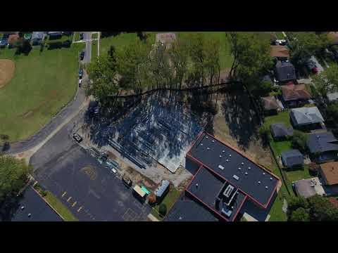 Alsip, Hazelgreen, Oak Lawn School District 126: Stony Creek Gymnasium (Drone Video)