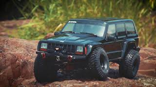 Gambar cover Axial SCX10 II 2000 Jeep Cherokee Canyon Crawl Part 2