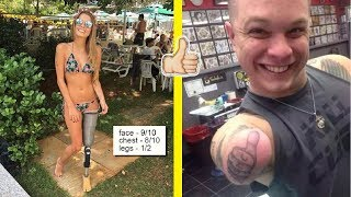 People Who Lost Their Limbs, But Not Sense Of Humor