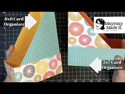 6x6 and 5x7 Magazine Card Organizers
