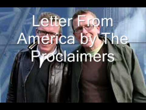 Letter From America by The Proclaimers