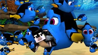 Minecraft | MORPH HIDE AND SEEK - Finding Dory Mod! (SO MANY DORY'S)