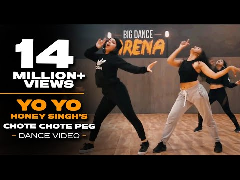 Chhote Chhote Peg  - Yo Yo Honey Singh I Dance Video - Big Dance I Atul X Karan