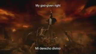 HELLOWEEN My God Given Right SUB AL ESP & LYRICS