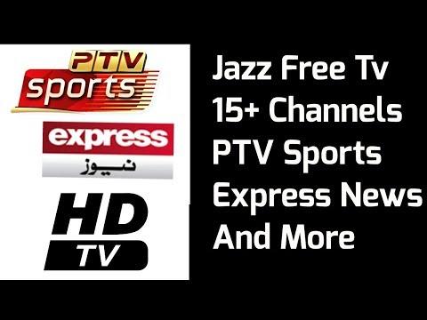 Jazz Free Tv Channels Free Cricket Live Streaming | Jazz Free Tv MX Player  Links