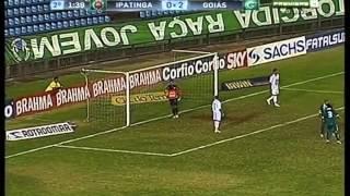 Ipatinga/MG 0 x 6 Goiás - Campeonato Brasileiro l Série B 2012