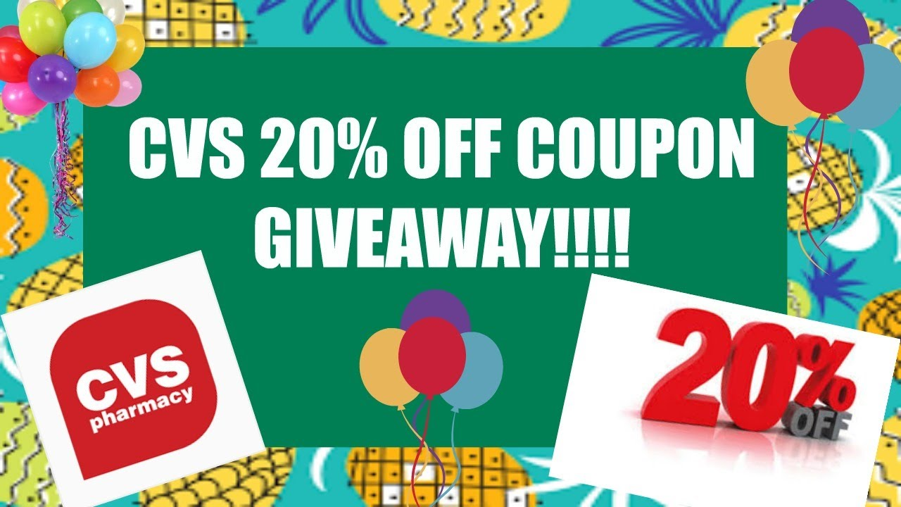 how to get 4 off 20 cvs coupon