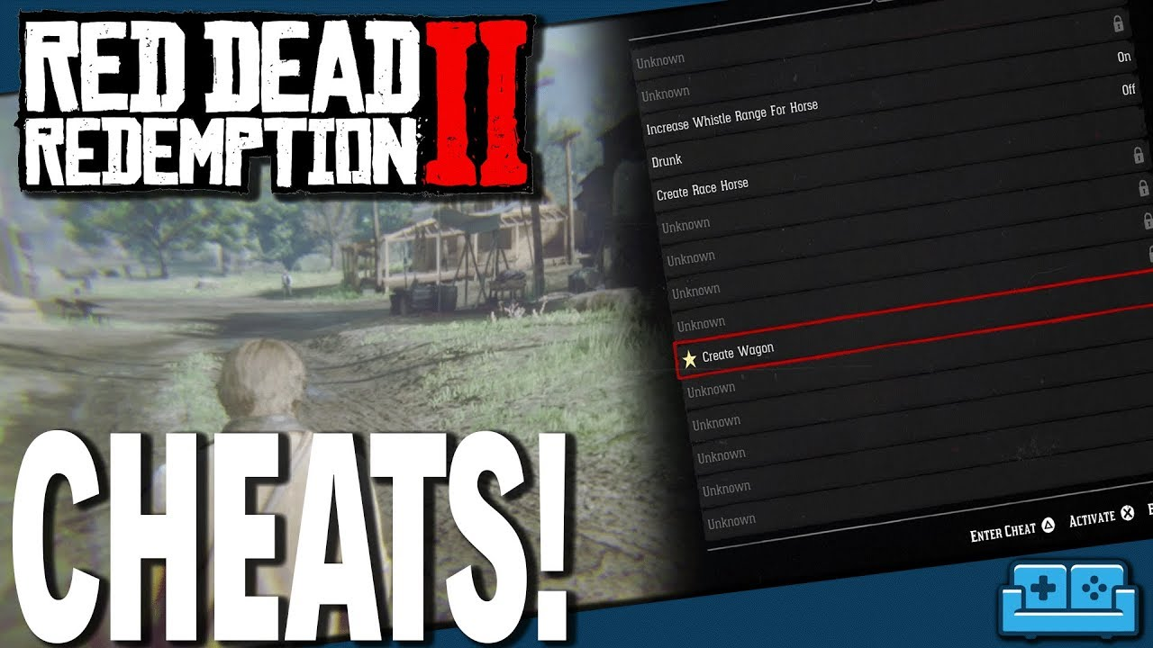 Red Dead Redemption 2 Cheat Menu Guide Youtube