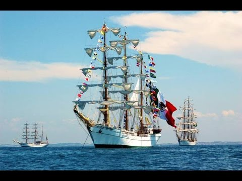 Cuauhtemoc Mexican Training Flagship 2017 - A tour of the ship