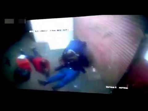South African Police Officer Shoots one of his Own partners.