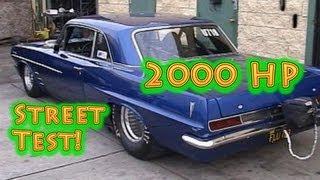 Beastly 2000 HP Pontiac Street Test Viral Video. Director