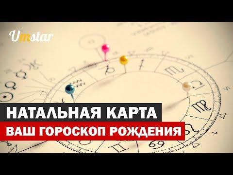 Натальная карта - это персональный гороскоп рождения человека.