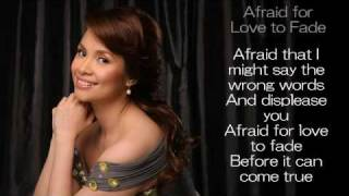 Watch Lea Salonga Afraid For Love To Fade video