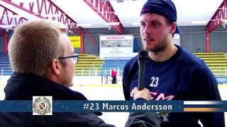 Borlänge Hockeys seriepremiär mot Skövde IK 20140921