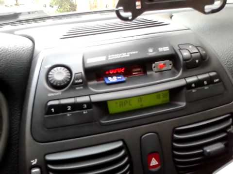 Grundig AD182M (Fiat Bravo/Brava/Marea) witch MP3 player