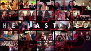 Star Wars 8 - Group Reactions mashup to The Last Jedi Trailer #1 | 19k subs bonus video