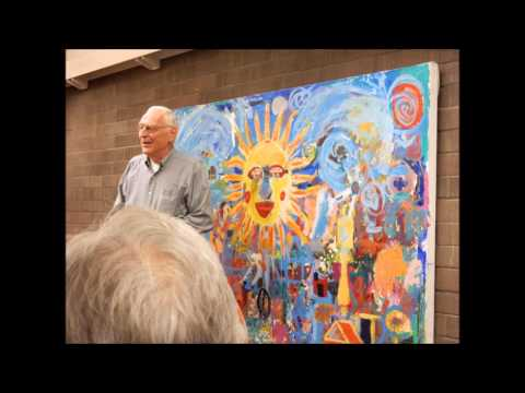 Ron Andrews Painting Demonstration at the Sunnyvale Art Club - March 2016