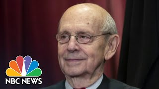 Justice Breyer Warns Against Calls To Expand The Supreme Court | NBC News NOW