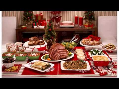 Christmas dinner ideas youtube for Ideas for christmas dinner