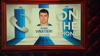 Colts K Adam Vinatieri Talks Retirement, Bill Parcells & More w/Rich Eisen I Full Interview