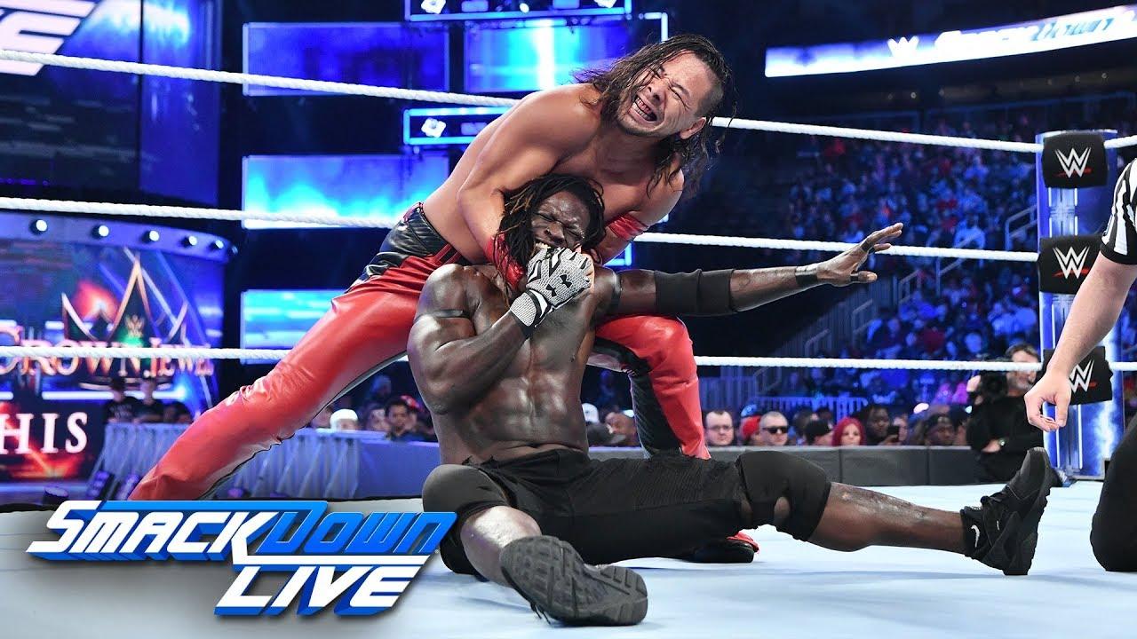 R-Truth vs. Shinsuke Nakamura: SmackDown LIVE, Oct. 30, 2018