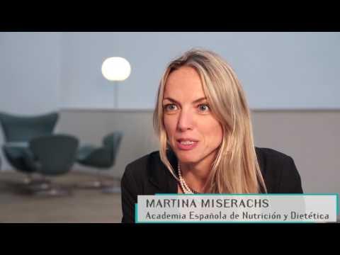 Martina Miserach, Academia Española de Nutrición y Dietética