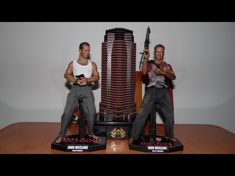 My DIE HARD John McClane 1/6 action figures collection.