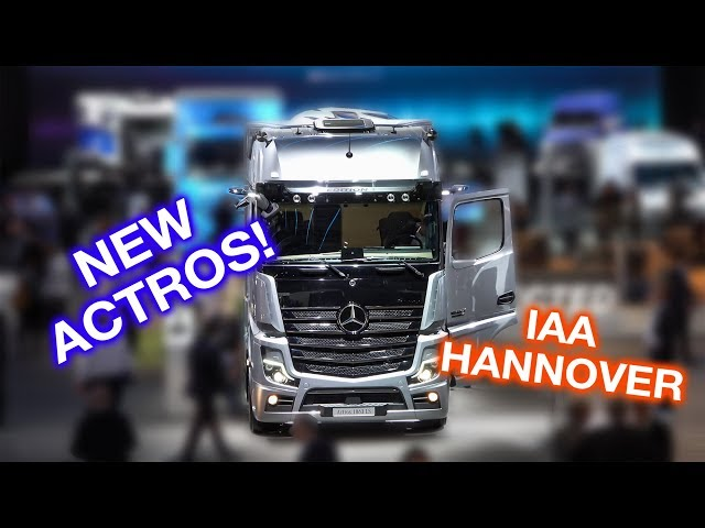 Meet the new Mercedes-Benz Actros | Hannover IAA 2018